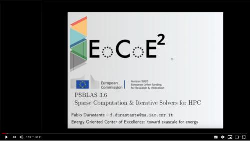 PSBLAS 3.6 - Click to Watch!